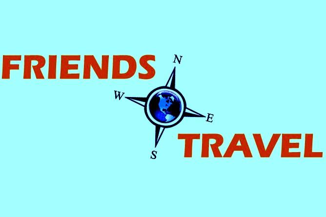 Friends travel logo
