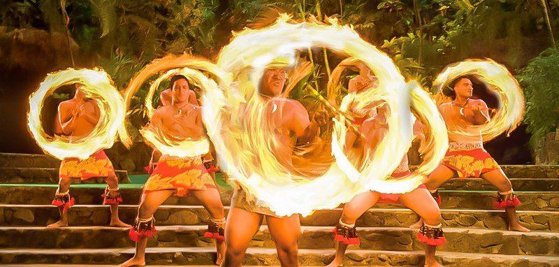 Hawaii Fire Dancers